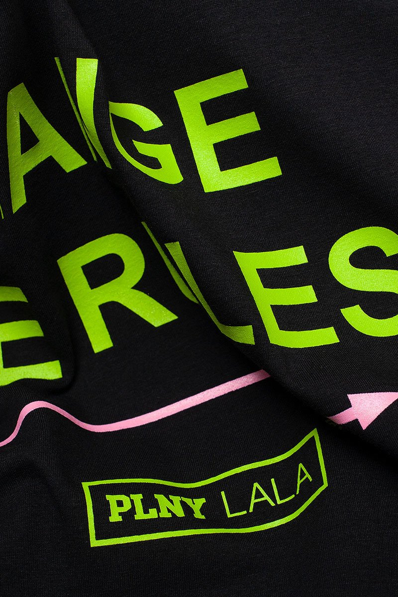 Change The Rules Classic Black Tee