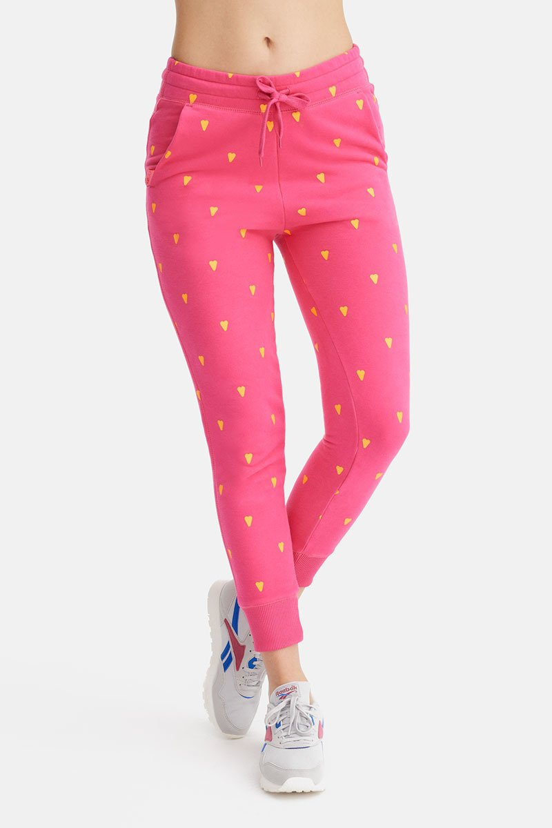 Hearts Travel Very Pink Pants
