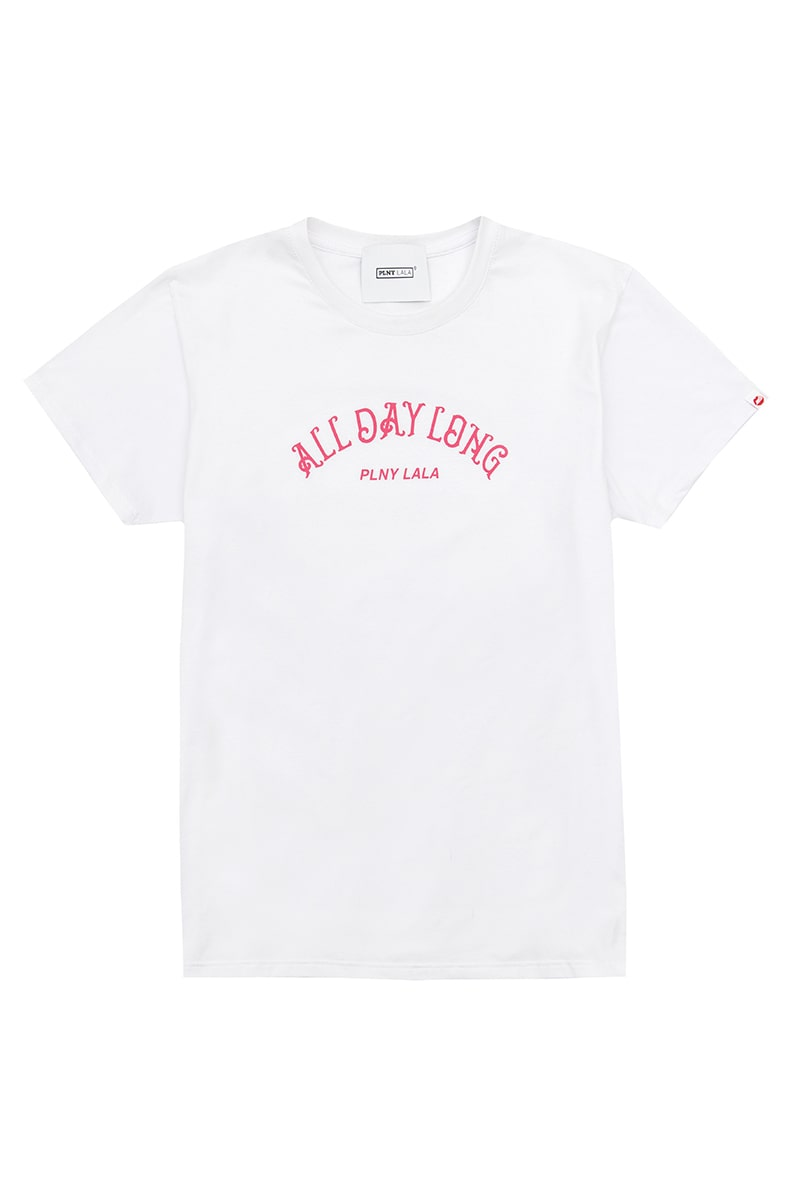 All Day Long Classic White Tee