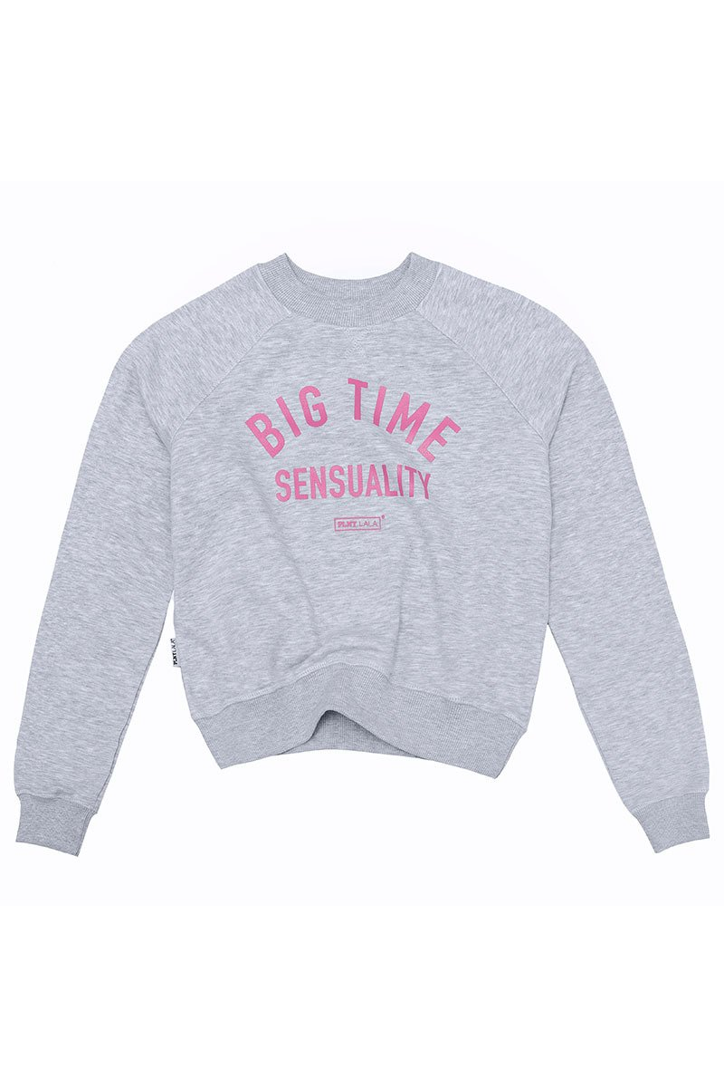 Big Time Riviera Grey Sweatshirt