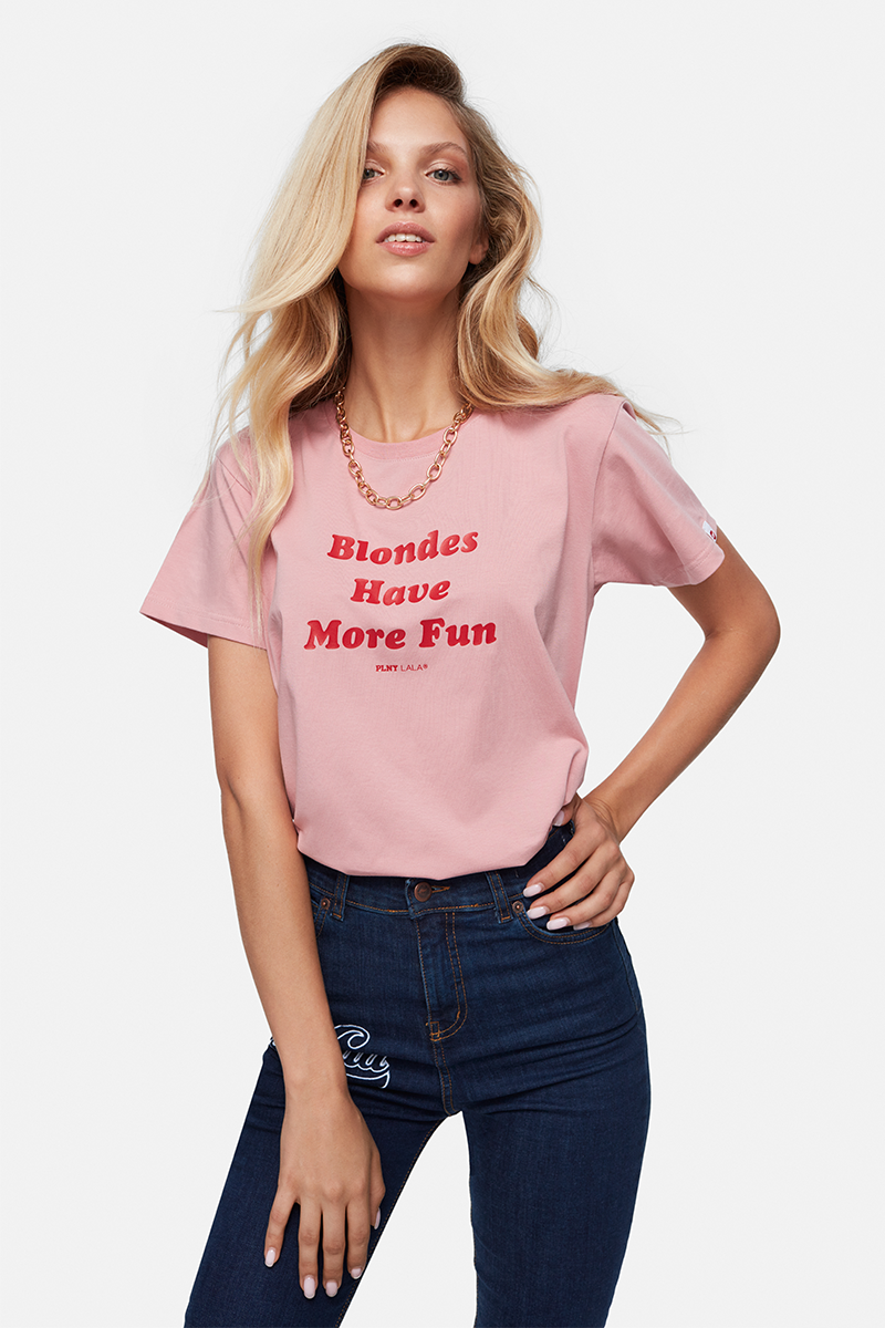 Blondes Classic Rose Tee
