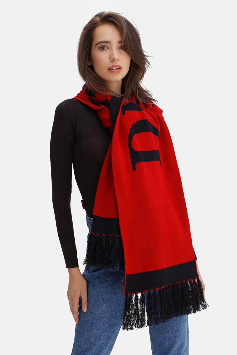 Dreamgirl Red Scarf