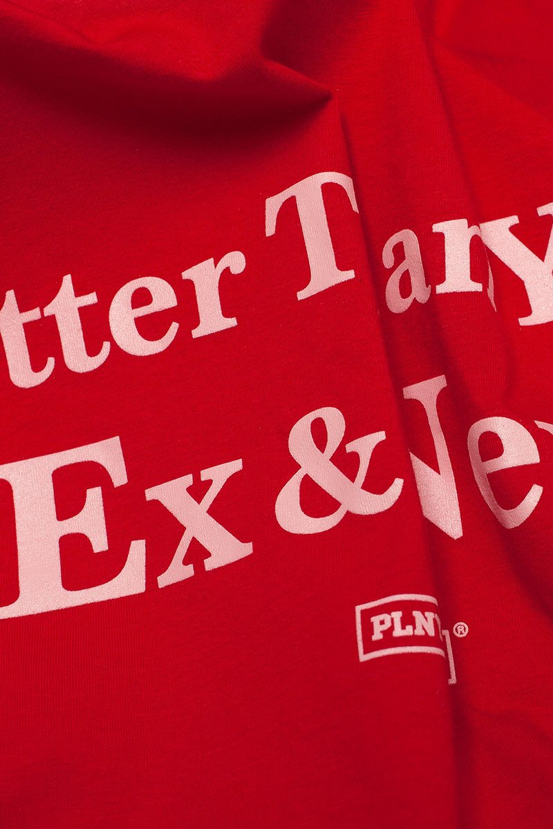 EX&NEXT Chilli Red Tee