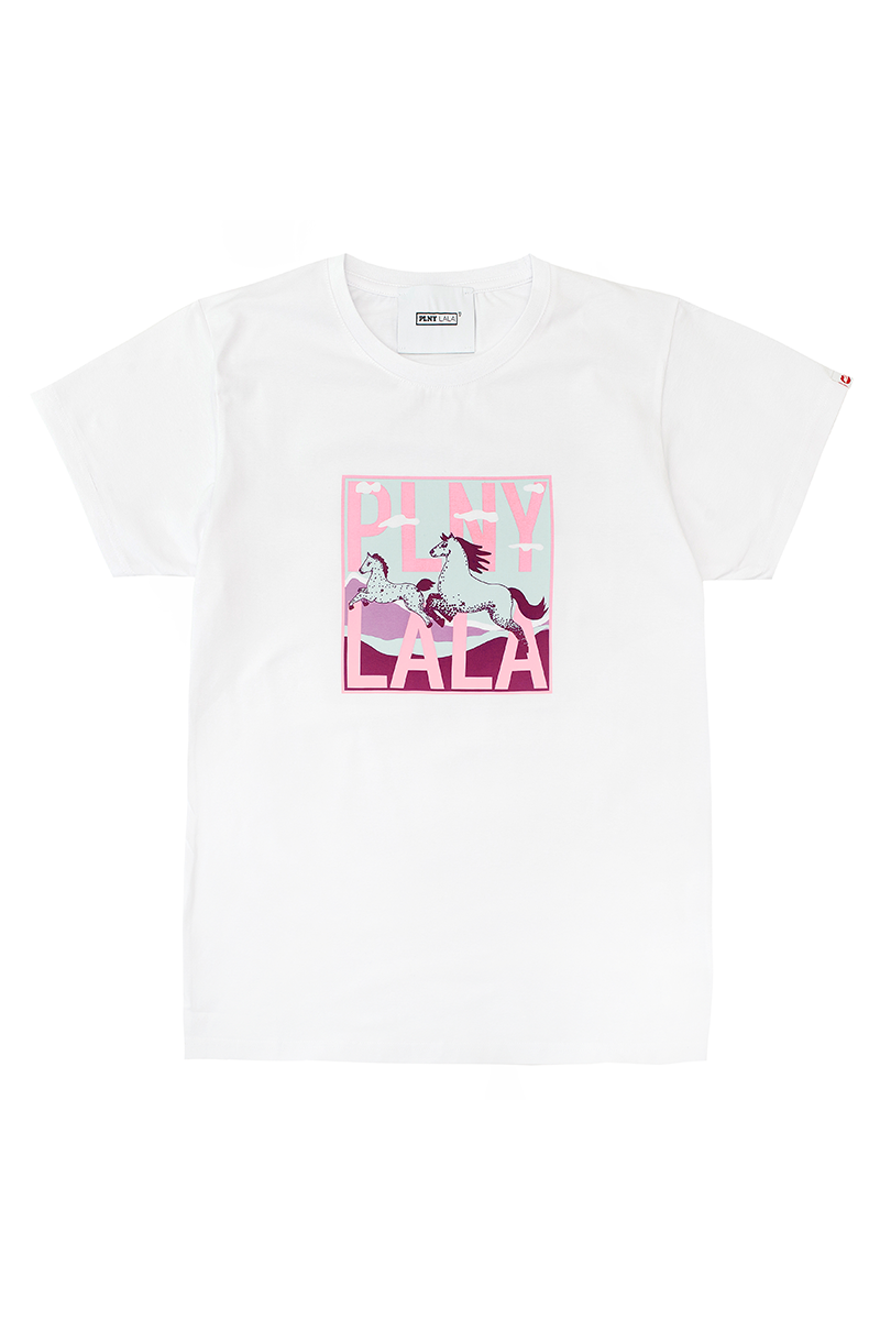 Lucky LALA Classic White Tee