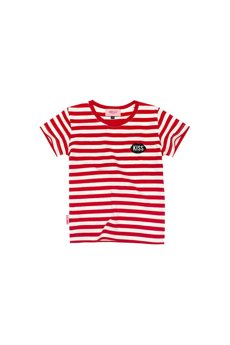 PLNY KIDS Petite Classic Red Stripes Tee