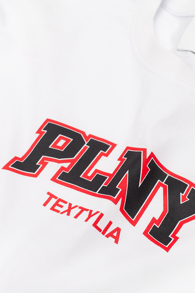 PLNY KIDS Windsor Titanium White Tee