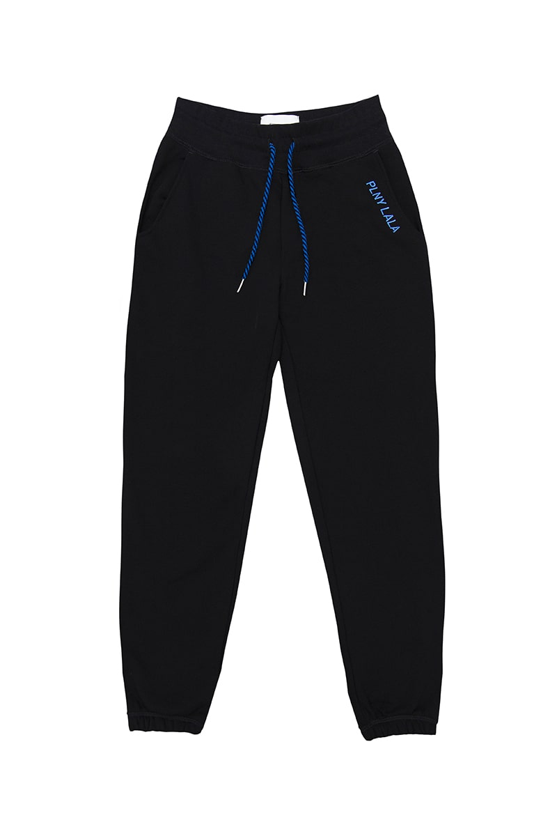PLNY LALA Mister Black/Blue Pants