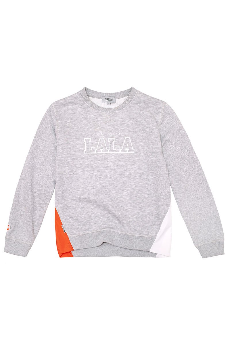 PLNY LALA Peak Grey Sweatshirt