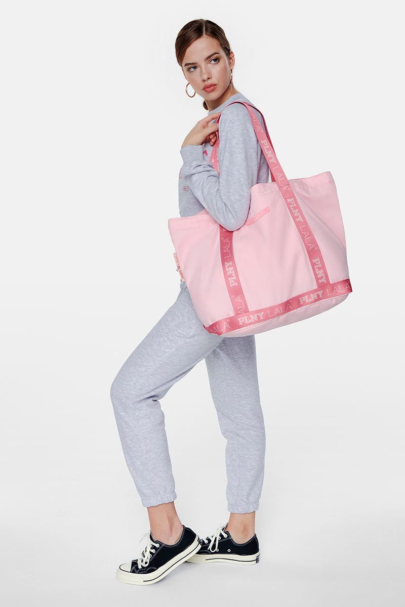 PLNY LALA Rose Shopper Bag