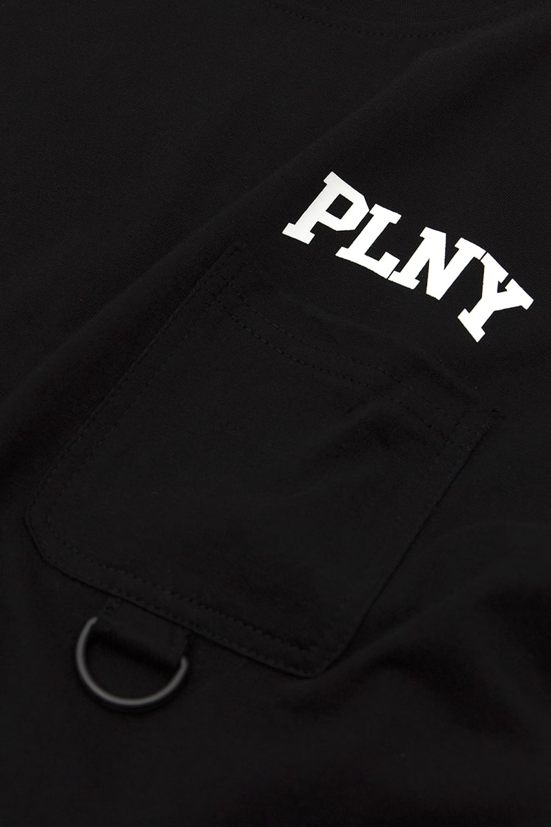 PLNY Stanford Jet Black Pocket Tee