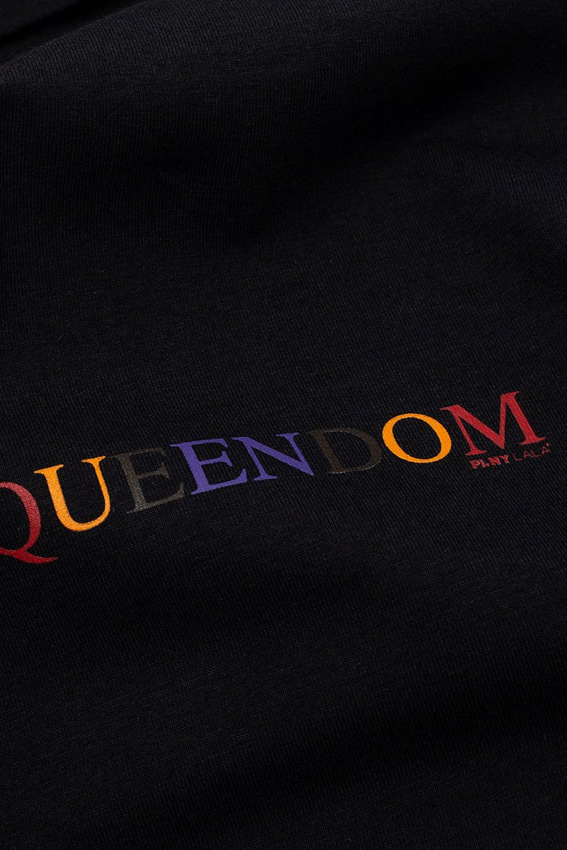 Queendom Turtleneck Black Bodysuit