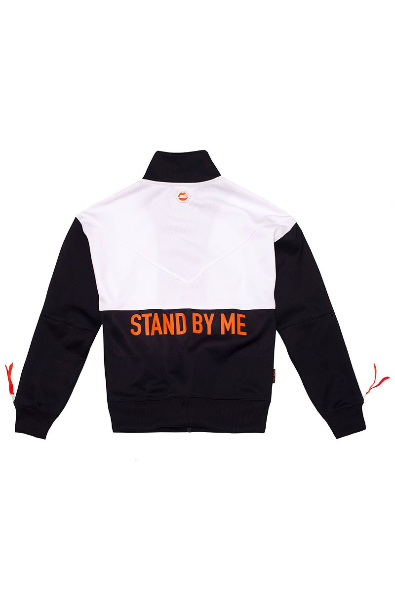 Stand By Me Black Track Top
