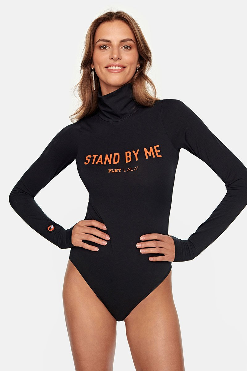 Stand By Me Classic Black Bodysuit
