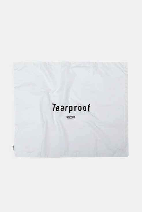 Tearproof White Cushion Cover